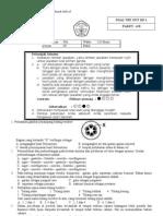 Soal Try Out Ujian Nasional SMP - IPA Paket B