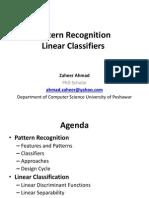Pattern Recognition Linear Classifier by Zaheer Ahmad