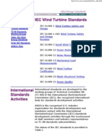 IEC Wind Turbine Standards
