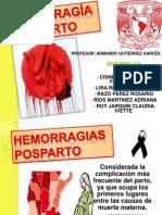 HEMORRAGÍA POSPARTO