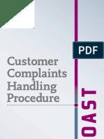 Customer Complaints Procedure