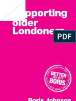 Boris Johnson 2012 Supporting Older Londoners Manifesto