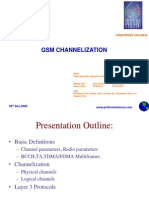 Basic Definitions,Physical Channels ,Logical Channels,Layer 3 Messages