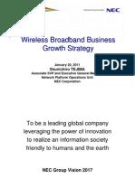 Wireless Broadband Business Growth Strategy