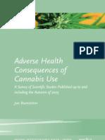 Adverse Health Consequences Cannabis