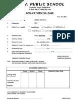 Leave Format[1][1]