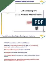 Mumbai Metro Project GR Madan