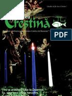 """Revista """"Actualitatea Creştină"""", luna decembrie 2008"""