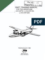 Aircraft Training Manuel LET 410 UVP-E