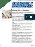 Geosinteticele – materiale cu rol drenant