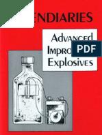 Incendiaries Advanced Improvised Explosives