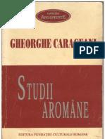 """Despre supraviețuirea și vitalitatea aromânei _ Gheorghe Carageani ,,Studii aromâne"""""""