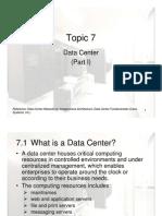 9-Topic7-DataCenter_Part_I_