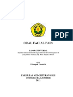 Laporan Oral Facial Pain