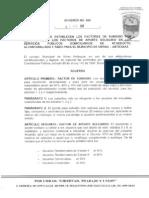 Acuerdo #080 de2011-marzo 01