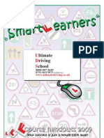 Ultimate Driving School Leeds Lessons Handout
