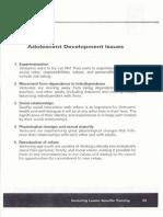 handout 4 - adolescent development issues