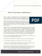 handout 6 - how to conduct a reflection