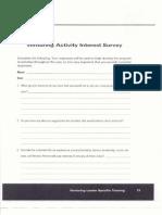 handout 11- venturing activity interest survey