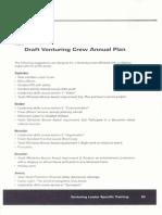 handout 13 - draft venturing crew annual plan