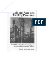 Acid and Sour Gas Treating Processes