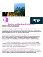 Daoism and Ecology Bibliography