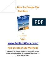 Escape the Rat Race & Maximise On Life By Making Money Online