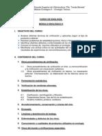 CURSO DE ENOLOGÍA - Programa