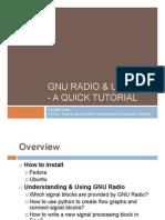 Gnu Radio Usrp Quick Tutorial