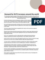 1 7 Million Tests - Demand for IELTS Increases Around the World