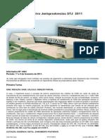 Informativo Jurisprudencias STJ 2011