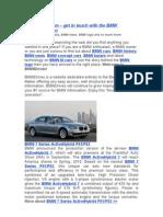 BMW Drives