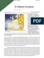 Conceptul de Cetatean European