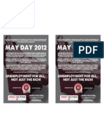 May Day Leaflet