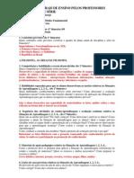 Planos Bimestrais Hist. 8