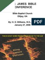 KJV Bible Conference