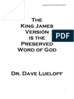 KJV is the Preserved Word of God