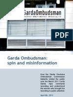 Garda Ombudsman's bias & spin in 'rape tape' investigation revealed