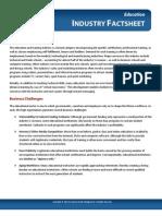 Digital Marketing Education Fact Sheet by WSI Online