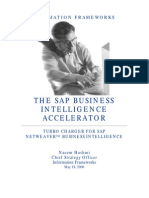 SAP Business Intelligence Accelerator