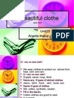 A Beautiful Clothe