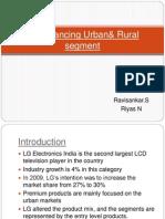 LG Balancing Urban& Rural Segment
