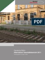 Alternativer Geschäftsbericht der DB AG 2011 31032012