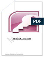 File on Ms Access