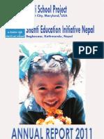 Santi School Project Annual Report 2011