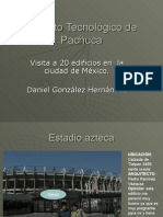 20 edificios y visitas a barragan y cna Daniel Gonzalez H.