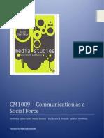 CM1009 - Summary of the Book