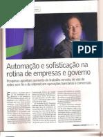 Artigo- Revista Valor Especial Julho 2010 - Automação1