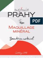 Eugénie Prahy - un maquillage minéral vegan - Catalogue 2012 en français (BàC)