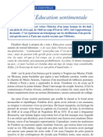 Flaubert L Education Sentiment Ale